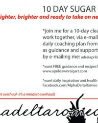 10 Day Sugar Cleanse- only $90